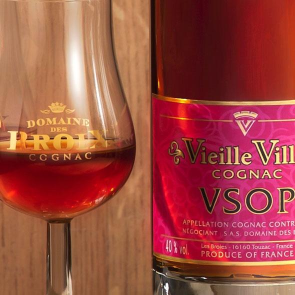 Domaine des broix vieille ville vsop for Piscine x eau cognac